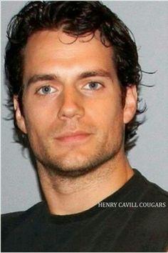 Henry Cavill...those eyes