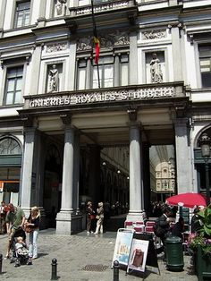 Galeries Royales St. Hubert- I've been here!