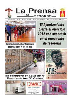 LA PRENSA DE SEGORBE n º 161 Abril 2013