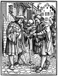 hans holbein dance of death the traveller - Google Search