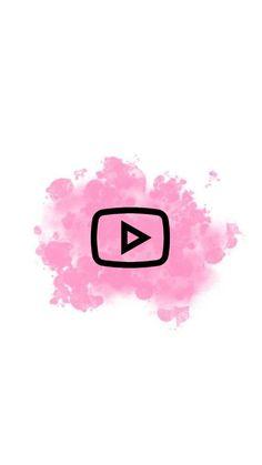 YouTube Instagram Logo, Pink Instagram, Love Wallpapers Romantic, Cute Wallpapers, Web Design Icon, Youtube Logo, Youtube Youtube, Cute App, Youtube Channel Art