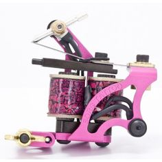 Borg Tattoo Machine Shader Pink, Red, Blue, BlackSpecifications: Weight: 5.5 ounces Set up with .020 front springs and .020 rear spring 47uf capacitor