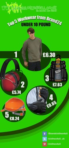 Top 5 Work Wear under 10 pound!