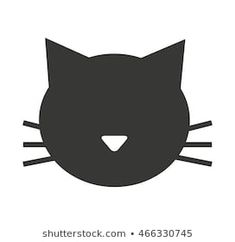 Find Cat Mascot Pet Silhouette Icon Vector stock images in HD and millions of other royalty-free stock photos, illustrations and vectors in the Shutterstock collection. Thousands of new, high-quality pictures added every day. Cat Silhouette, Silhouette Portrait, Cat Vector, Vector Art, Cat Template, Baby Shower Deco, String Art Templates, Paper Quilling Patterns, Stencil Printing