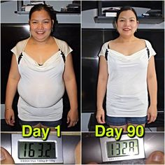 Same shirt, different Joy! Let's show her some love for being 31 lbs. down in only 90 days! She wears that smile well! Don't forget to show us your results by using #ViResults!