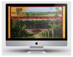Website for Willow Creek Winery, Cape May (www.willowcreekwinrerycapemay.com) by www.cpwcreative.com