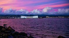Sunrise, Pearl Harbor - USS Arizona