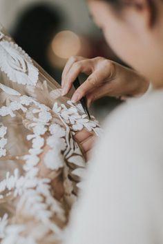 Hello May Magazine visit the Rue de Seine studios. Sewing Dress, Lesage, Couture Details, Sewing Studio, Chic Wedding, Dressmaking, Bridal Gowns, Designer, Photos
