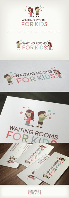 Waiting Rooms For Kids logo / design layout