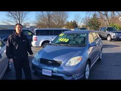 Logan Rupert at StateWide Ford Lincoln showing the Toyota Matrix