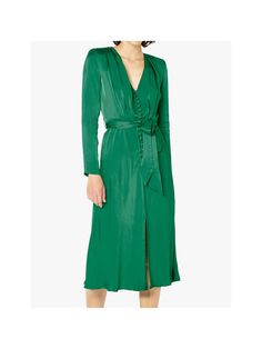 BuyGhost Meryl Satin Button Dress 0f5b6d71030