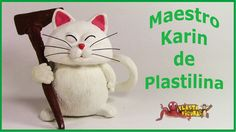 Como hacer a Maestro Karin de Plastilina/How To Make Karin with Plastici...