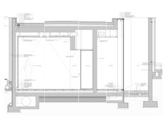 eduardo souto de moura / miguel torga cultural center . sabrosa Architecture Drawings, Facade Architecture, Load Bearing Wall, Construction Area, Collage Drawing, Glass Facades, Study Rooms, Arched Windows, Detailed Drawings