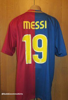 Barcelona 2008/2009 home football shirt Leo Messi #19 by Nike camiseta Messi19 Spain LaLiga Barca FCB FCBarca jersey #barcelona #fcbarcelona #messi #leomessi #messi19 #nike #forsale #soccer #football