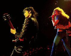 Jimmy Page - Robert Plant