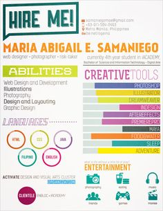 Great Resume Designs That Catch Attention And Got People Hired
