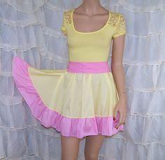 My Little Pony FlutterShy Summer Dress Cosplay by mtcoffinz, $80.00