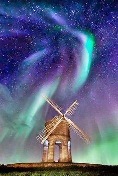 Nice night sky lights