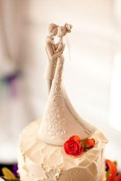 Adorno para el Pastel -Espero que el adorno para el pastel se parezca a mi vestido de boda