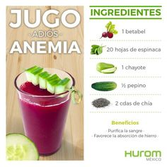 Healthy Recepies Healthy Juices Healthy Nutrition Healthy Smoothies Healthy Drinks Healthy Life Healthy Eating Anemia Diet Food For Anemia Healthy Recepies, Healthy Juices, Healthy Smoothies, Healthy Drinks, Juice Smoothie, Smoothie Drinks, Smoothie Recipes, Foods With Iron, Iron Rich Foods