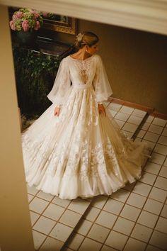 Modest Wedding Dresses, Bridal Dresses, Wedding Gowns, Prom Dresses, Vestidos Country, Pretty Dresses, Beautiful Dresses, Fairytale Dress, Dream Dress