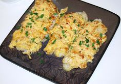 O kuchni z uczuciem : Ryba po francusku Fish Dishes, Seafood Dishes, Fish And Seafood, Fish Recipes, Vegan Recipes, Cooking Recipes, Macaroni And Cheese, Good Food, Food And Drink