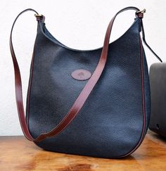 7634a40a02bd Authentic MULBERRY vintage BAG scotchgrain LEATHER cross body satchel  FREE  P P