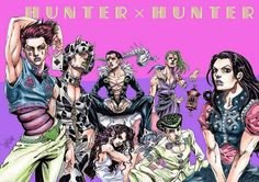 Jojo hunterxhunter