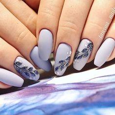 23 Beautiful Nail Art Designs for Coffin Nails - Othence Beautiful Nail Art, Gorgeous Nails, Pretty Nails, Matte Nails, My Nails, Acrylic Nails, Gradient Nails, Rainbow Nails, Toe Nail Designs