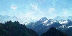 (U) III, part of (U). Earthly mountains and heavenly skies, which is more real.