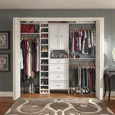 Guest Bedroom Closets   Small Closet Organization Ideas: Pictures, Options  U0026 Tips