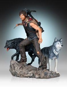The Walking Dead Statue 1/8 Daryl & the Wolves 26 cm The Walking Dead Figuren - Hadesflamme - Merchandise - Onlineshop für alles was das (Fan) Herz begehrt!