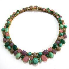 christian dior jewelry | GripoixChanel - CHANEL, Gripoix, poured glass, costume jewelry ...