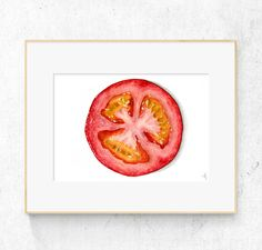 Abstract Art Painting, Contemporary Abstract Art, Watercolor, Flower Art, Original Watercolor Painting, Watercolor Tomatoes, Original Watercolors, Graphic Design Projects, Fruit Art