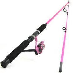 pink fishing rod - * Pinned by* Van xo