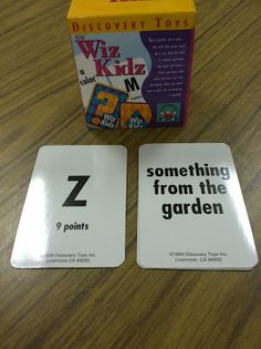 Wiz Kidz by Discovery Toys - another great game for speech and language therapy.- www.discoverytoys.com/kidsatplay