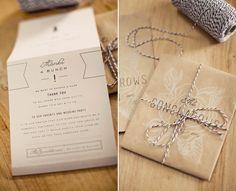 North Carolina Garden Wedding Invites
