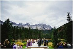 October Ceremony in the mountains