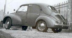 Renault 4cv commerciale