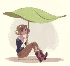 Mini Ludvin - Book Portfolio : Illustration ados/adultes