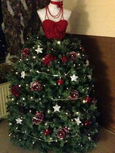 Kerstboomjurk