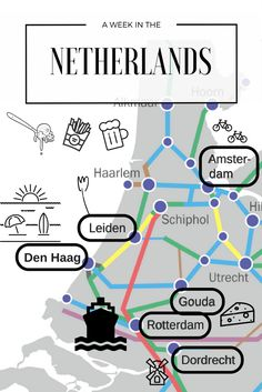A week in the Netherlands - itinerary, train road trip, Rotterdam, Dordrecht, Gouda, Den Haag, Leiden, Lisse, Amsterdam. Tulips, cycling, canals, windmills, food!