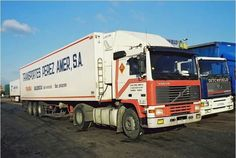 Road Transport, Volvo Trucks, Classic Trucks, Tilt, Transportation, Cars, Europe, Spanish, Vehicles