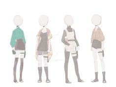 Manga Clothes, Drawing Anime Clothes, Dress Design Sketches, Fashion Design Drawings, Anime Inspired Outfits, Anime Outfits, Cute Girl Drawing, Cute Drawings, Naruto Clothing