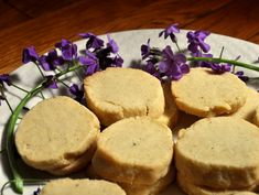 vanilla bean sables