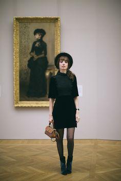 Portrait d'une Parisienne | Miss Pandora - Louise Ebel