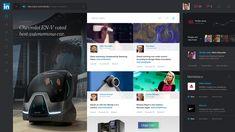 LinkedIn Redesign Concept | Dashboard #UI