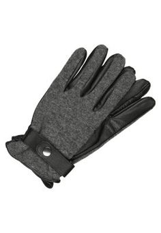Rękawiczki pięciopalcowe - black/grey melange