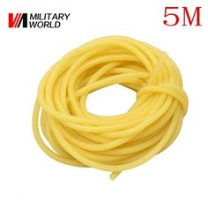 Find More Bow & Arrow Information about Hunting Military 5M 3x5mm Shooting Slingshots Rubber Tube Natural Latex Bow Rubber Band Catapult Fitness Bungee Elastic Part,High Quality rubber strength bands,China band rubber Suppliers, Cheap rubber cot from Mlitary World Store on Aliexpress.com