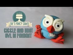 How to make the owl from Giggle and Hoot How To Cake Tutorial - YouTube